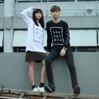Kaos / T-shirt Longsleeve One Ok Rock white/black