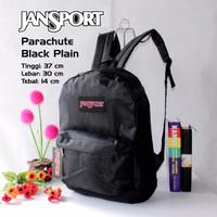 GET502 Tas Ransel Anak Sekolah Jansport Hitam Polo 9IKU