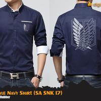 Jual SNK K-Style Navy Shirt (SA SNK 17) Murah