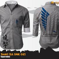Jual SNK Grey Shirt (Attack On Titan SA SNK 02) Murah