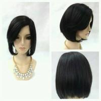 wig human model bob nungging
