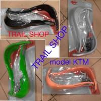 harga Handguad Trail Model Ktm Bahan Aluminium Tutup Plastik Tebal Tokopedia.com