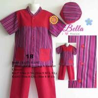 La Bella Koko Anak Ka812 Red 18 Size 8-13th