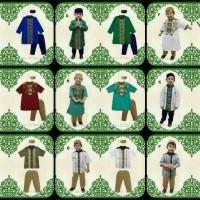 setelan Baju koko anak Muslim Lil kids 93 / LK 93 Big size
