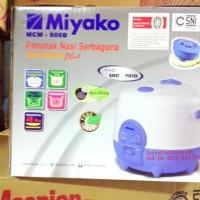 Miyako MCM606B Magic Com Rice Cooker Mini Asli, Baru, Garansi Resmi