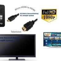 KABEL HDMI MICRO / KABEL MICRO HDMI BLACKBERRY Z10 TO HDMI 1,5M