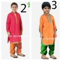 baju koko anak india style