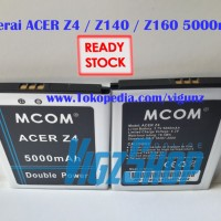 Baterai Battery Acer Liquid Z4, Z140, Z160 5000mAh MCOM Double Power