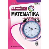 buku SOAL MANDIRI MATEMATIKA KELAS 6 SD KTSP 2006 ERLANGGA