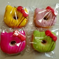 Jual Squishy Jumbo Hello Kitty Donut Replica Soft Slow Rising Murah