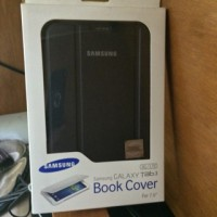 Book Cover Samsung Galaxy Tab 3 7.0 - Hitam ORIGINAL