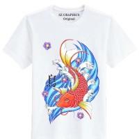 sz graphics/fish/t shirt pria/kaos pria/t shirt wanita/kaos
