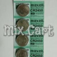 Jual Baterai Kancing (Button Cell) Micro Lithium Cell Maxell CR2450 Murah