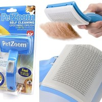 PetZoom - Self-Cleaning Brush For Dogs And Cats