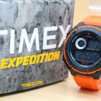 harga jam tangan pria Timex expedition orange Tokopedia.com