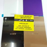 Sony Xperia Z C6602/3 Backdoor Tutup Case Cover Casing Back Belakang