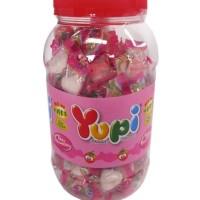 Yupi Strawberry Kiss Toples 125's Permen Yuppy yupy