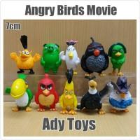 10pcs / Set Anime Movie Angry Birds & Pig Action Figure 6-7cm