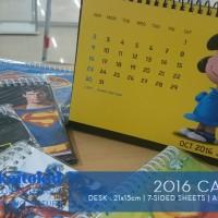 Jual Kalender SNOOPY 2016 Murah