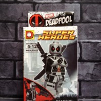Jual Lego Deadpool grey Marvel Comics D Bootleg Murah