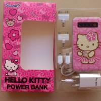 Jual Power Bank HELLO KITTY 5000 mah slim Touch On Off SANRIO ORIGINAL Murah