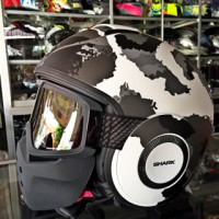 Helm SHARK RAW KURTZ MATT