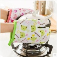 sarung tangan tahan panas kartun / cute animals microwave glove KHG001