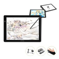 XP-Pen LED Tracing Light Pad Graphics Drawing Pen Tablet - CPA4 - Blac