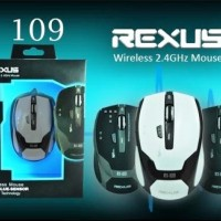 Mouse Wireless Gaming Rexus RX 109 / RX-109