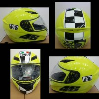 helm agv k-3 top zoo celbr yellow