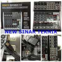 Mixer BEHRINGER XENYX QX1202USB 4 Channel Mono 4 Stereo USB Interface