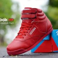 Sepatu Wanita Kets Sneakers Reebok Wedges - FREE 1PASANG KAOS KAKI# 3