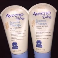 Aveeno Baby Eczema Therapy Moisturizing Cream, Fragrance Free 141gr