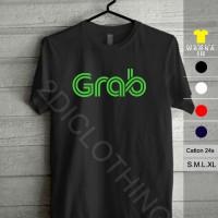 Kaos distro Grab / Tshirt Grab / Kaos Grabike / Grabcar