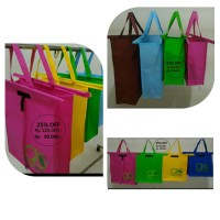 trolley bag / shopping bag spunbond 100g go green