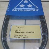 harga V-Belt Motor Kymco Free LX Merk Mitsuboshi Tokopedia.com