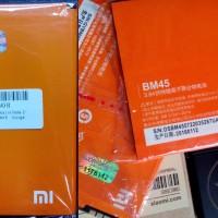 Jual Battery Baterai Original 100% Xiaomi Redmi Note 2 BM-45 Murah