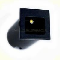 Lampu Tangga / Stairs Light LED AR4A  1 Watt Hitam