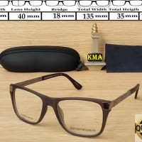 harga frame minus / frame emporio armani / frame kacamata / frame wayfarer Tokopedia.com