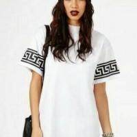 T-Shirt Longline Woman, Kaos Longline Woman, Swag Woman