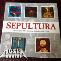 SEPULTURA - THE COMPLETE MAX CAVALERA COLLECTION 1987 1996 - 5 CD