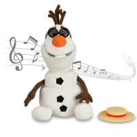 Disney Store USA - Olaf Singing Plush Doll - 10 1/2''