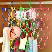 Harga gantungan jilbab lipat dan syal organiser murah scarf dasi belt | WIKIPRICE INDONESIA