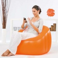 Sofa Angin Comfi Cube Bestway 75046 - Orange
