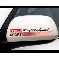 contoh cutting stiker trd sport racing development TRD .