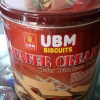 wafer cream chocolate UBM biskuit 550gr