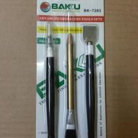 Alat Service Hp & Tablet/Pisau Ic/Kuas+Pensil Penghapus
