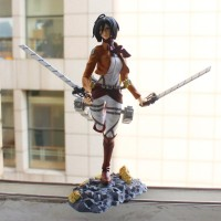 FIGURE MIKASA ATTACK ON TITAN SNK