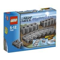 lego City7499 Flexible & Straight Tracks