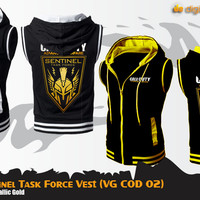 Rompi Hoodie Sentinel Task Force (Vest Game Call of Duty)
